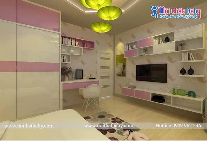nội thất phòng ngủ hiện đại BBP49