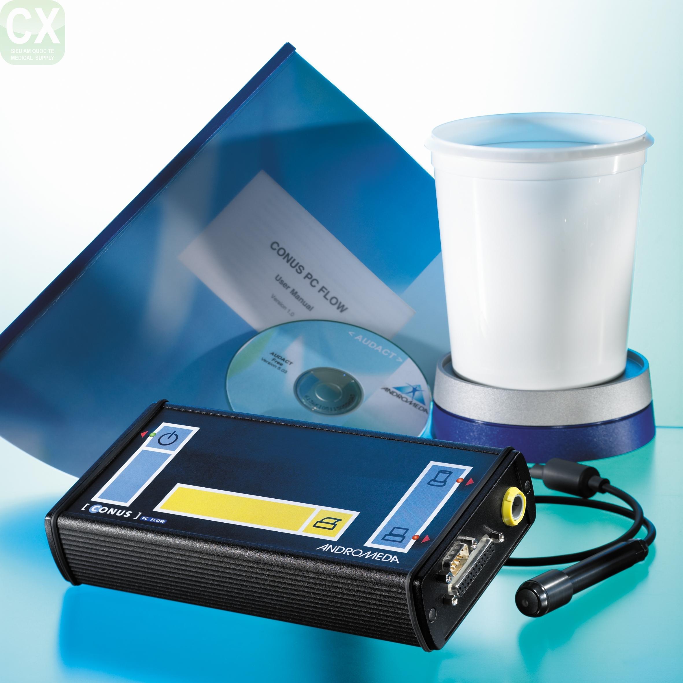 Máy đo niệu động học; niệu động học; niệu dòng đồ; áp lực bàng quang; áp lực ổ bụng; điện cơ đồ; áp lực đồ bàng quang; co thắt của bàng quang; dòng rò; Áp lực rỉ nước tiểu ( Leak Point Pressure ); Áp ực rỉ nước tiểu cơ Détrusor ( DLPP); Áp lực Valsava (VLPP); áp lực bọng đái; uroflowmetry; độ dãn nở bọng đái (compliance); tăng phản xạ cơ chóp (detrusor hyperreflexia); bất ổn định cơ chóp (detrusor instability); bất phản xạ cơ chóp (detrusor areflexia); không co bóp cơ chóp (detrusor acontractile); phép đo áp lực niệu đạo (urethral profilometry); áp lực đỉnh của niệu đạo (maximal urethral pressure); chiều dài chức năng của niệu đạo (functional urethra length); P ves; Pabd; Pura; Pdet; Pclo; Video Urodynamics;tiểu không kiểm soát; Andromeda, máy đo niệu động học helix; urinary incontinence